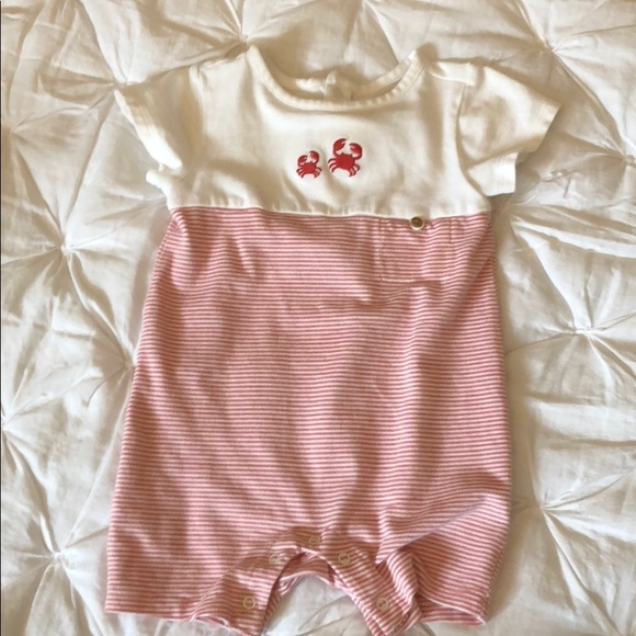 cad8f24b9 Janie and Jack One Pieces | Baby Girl Or Boy Crab Layette | Poshmark